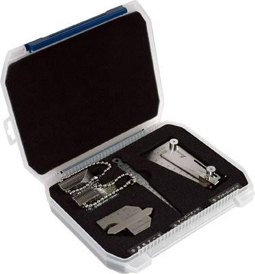 シンワ 鉄骨精度測定器具5点セット【97575】(測定工具・ゲージ)