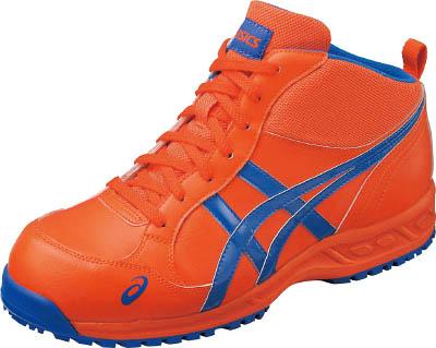 アシックス 作業用靴 ウィンジョブ35L オレンジXブルー 24.0cm【FIS35L.0942-24.0】