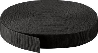 TRUSCO PPベルト幅50mmX長さ50m 黒【PPB-5050 BK】(梱包結束用品・結束バンド)