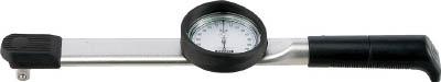 トーニチ ダイヤル型手動式トルクレンチ 置針付【DB25N-1/4-S】(計測機器・トルク機器)