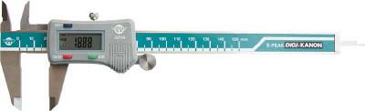 カノン 最大値・最小値ホールドデジタルピタノギス150mm【E-PEAK15】(測定工具・ノギス)【送料無料】