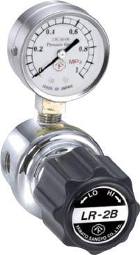 分析機用ライン圧力調整器 LR-2S L1タイプ【LR2SRL1TRC】(溶接用品・ガス調整器)