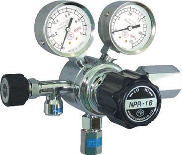 分析機用圧力調整器 NPR-1B【NPR1BTRC13】(溶接用品・ガス調整器)