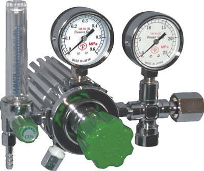 フィン付圧力調整器 YC-2F【YC-2F】(溶接用品・ガス調整器)