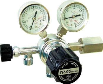 分析機用圧力調整器 YR-90S【YR90STRC11】(溶接用品・ガス調整器)(代引不可)