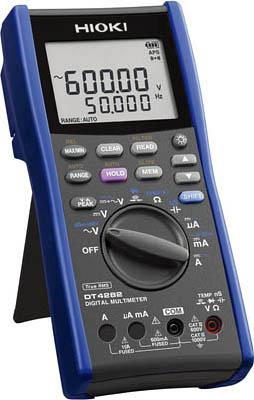 HIOKI デジタルマルチメータ(A端子あり)【DT4282】(計測機器・マルチメーター)