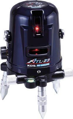 KDS オートラインレーザーATL-23受光器・三脚付【ATL-23RSA】(測量用品・レーザー墨出器)