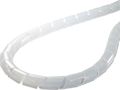 ヘラマンタイトン スパイラルチューブ (ポリエチレン製)【TS-25】(梱包結束用品・結束バンド)