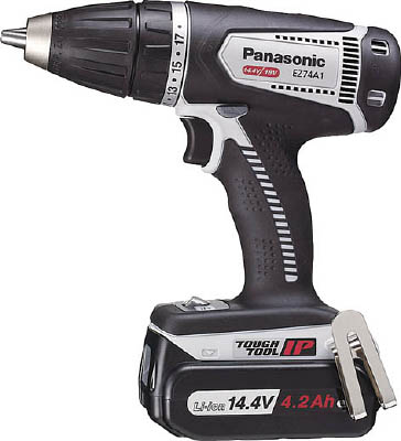 Panasonic DUAL 14.4Vドライバー(グレ-)【EZ74A1LS2F-H】(電動工具・油圧工具・ドリルドライバー)