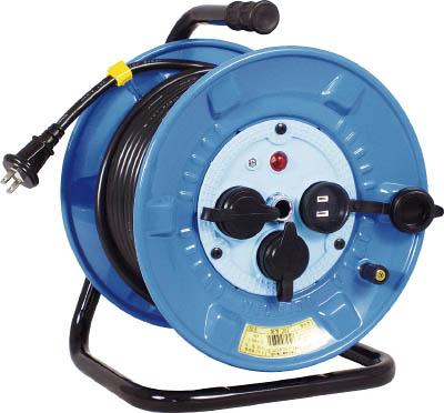 日動 電工ドラム 防雨防塵型100Vドラム 2芯 30m【NPW-303】(コードリール・延長コード・コードリール防雨型)