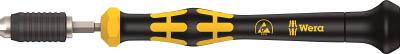 Wera 1460 クラフトフォーム マイクロESDトルクドライバー【74800】(計測機器・トルク機器)