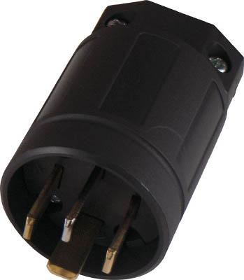 アメリカン電機 平刃形 ナイロンプラグ 保護カバー付 接地3P20A250V 電設配線部品 登場大人気アイテム 9222NB プラグ コンセント お気に入り