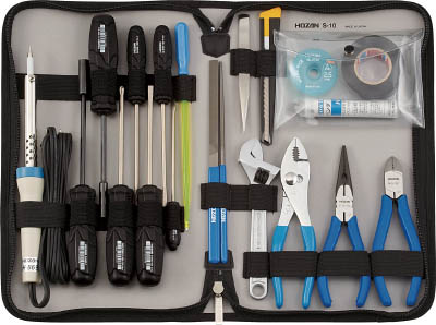 HOZAN 工具セット20点【S-10】(工具セット・ツールキット)