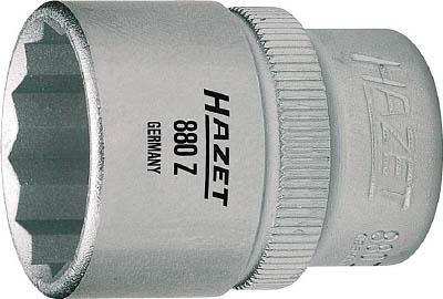 HAZET ソケットレンチ 12角タイプ 差込角9.5mm 880Z-15 スパナ プーラ レンチ 売店 ソケット 今だけスーパーセール限定