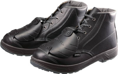 シモン 安全靴甲プロ付 編上靴 SS22D-6 27.5cm【SS22D-6-27.5】(安全靴・作業靴・安全靴)