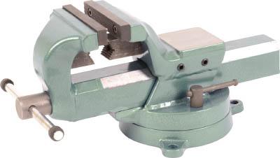 TRUSCO 回転台付リードバイス(強力型・角胴シャフト) 125mm【TSLV-125】(クランプ・バイス・バイス)