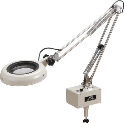オーツカ LED照明拡大鏡 ENVLシリーズF型(2倍率)【ENVL-F2X】(光学・精密測定機器・拡大鏡)