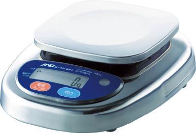 A&D 防塵防水デジタルはかり(検定付・3区)【HL2000IWP-K-A3】(計測機器・はかり)