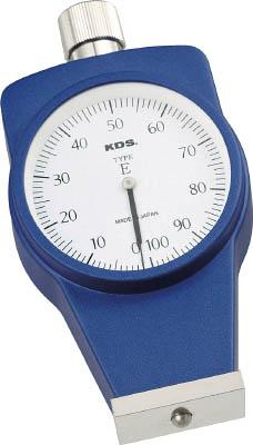 KDS ゴム硬度計Eタイプ標準型【DM-107E】(計測機器・硬度計)