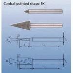PFERD ダイヤモンドバー 6mm軸 120【DSK15-60-806173】(研削研磨用品・ダイヤモンドバー)