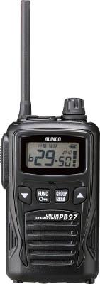 アルインコ 特定小電力トランシーバー 47ch【DJPB27】(安全用品・標識・トランシーバー)