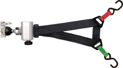 allsafe 巻き取り機能付車いす固定ベルト(後側)×1本【ACW-2-R】(吊りクランプ・スリング・荷締機・荷締機)