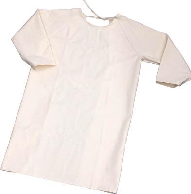TRUSCO 難燃加工綿保護具 袖付前掛け Lサイズ【TBK-SMK-L】(溶接用品・溶接用保護具)