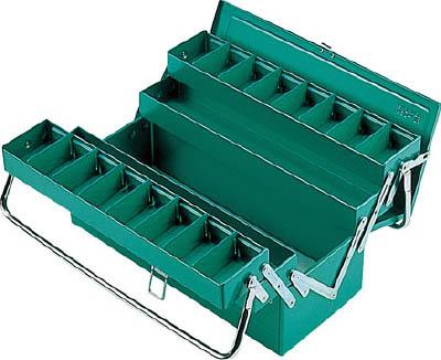 リングスター ハイクオリティボックス RSD-413グリーン【RSD-413-GN】(工具箱・ツールバッグ・スチール製工具箱)