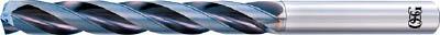 OSG 超硬油穴付き3枚刃メガマッスルドリル5Dタイプ【TRS-HO-5D-15.5】(穴あけ工具・超硬コーティングドリル)【送料無料】
