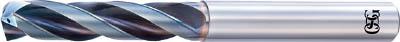 OSG 超硬油穴付き3枚刃メガマッスルドリル3Dタイプ【TRS-HO-3D-7.1】(穴あけ工具・超硬コーティングドリル)【送料無料】