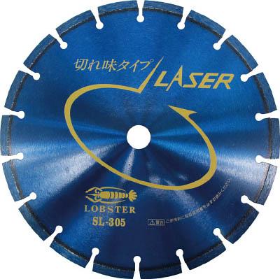 エビ ダイヤモンドホイール レーザー(乾式) 304mm 穴径25.4mm【SL30525.4】(切断用品・ダイヤモンドカッター)