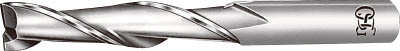 OSG ハイスエンドミル 2刃ロング 27【EDL-27】(旋削・フライス加工工具・ハイススクエアエンドミル)