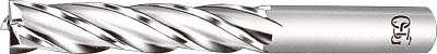 OSG ハイスエンドミル センタカット 多刃ロング 34【CC-EML-34】(旋削・フライス加工工具・ハイススクエアエンドミル)
