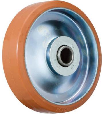 イノアック 中荷重用キャスター ログラン(ウレタン)車輪のみ Φ250【P-250W】(キャスター・プレート式ウレタン車)