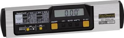 エビスダイヤモンド 磁石付デジタルレベル 260mm【ED-26DGLMN】(測量用品・水平器)