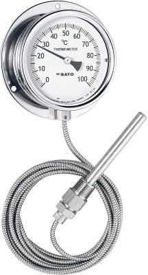 佐藤 隔測指示温度計【LB-100S-5】(計測機器・温度計・湿度計)