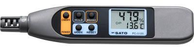 佐藤 ペンタイプ温湿度計 PC-5120【PC-5120】(計測機器・温度計・湿度計)