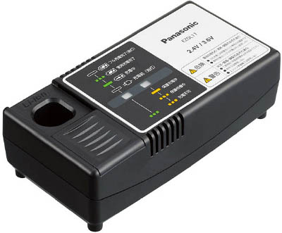 Panasonic ニッケル水素電池パック2.4V/3.6V用充電器【EZ0L11】(電動工具・油圧工具・ドリルドライバー)
