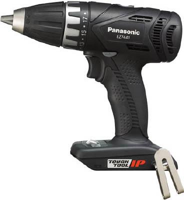 Panasonic 充電ドリルドライバー 14.4V ブラック 本体【EZ7441X-B】(電動工具・油圧工具・ドリルドライバー)