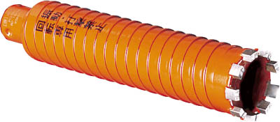 ミヤナガ ドライモンドコアポリカッター Φ38(刃のみ)【PCD38C】(穴あけ工具・コアドリルビット)