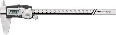 A&D 防滴ステンレスデジタルノギス 200mm【AD5763-200】(測定工具・ノギス)