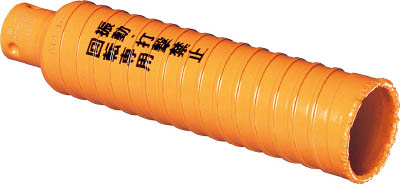ミヤナガ ハイパーダイヤコア/ポリカッターΦ80(刃のみ)【PCHPD080C】(穴あけ工具・コアドリルビット)