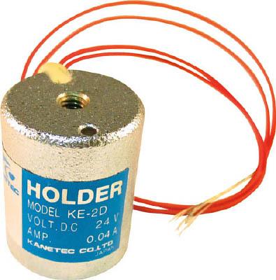 カネテック 薄形電磁ホルダー【KE-2D】(マグネット用品・電磁ホルダ)