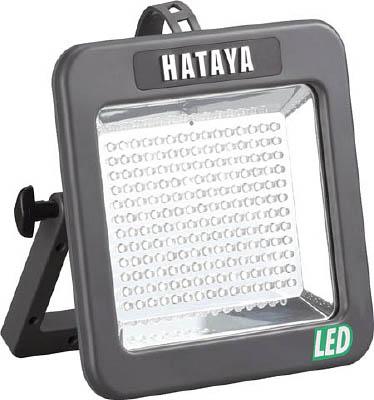 ハタヤ 充電式LEDケイ・ライト 屋外用 白色LED180個(10W)【LWK-10】(作業灯・照明用品・投光器)