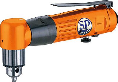 SP エアードリル10mm(正逆回転機構付)【SPD-51AH】(空圧工具・エアドリル)