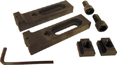 スーパーツール スライドクランプ(Bタイプ)2コ1組(M16用)【TC-2B】(ツーリング・治工具・クランプ(工作機械用))