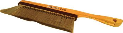 スタック ハンド木柄除電ブラシ【STAC200】(はんだ・静電気対策用品・静電気対策ブラシ)