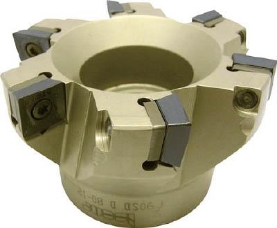 【限定価格セール!】 X フェースミル(コースピッチ)【F90SDD80-CP12】(旋削・フライス加工工具・ホルダー):リコメン堂インテリア館 イスカル-DIY・工具