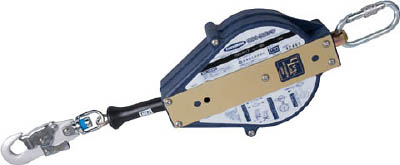 ツヨロン ウルトラロック12メートル 台付・引寄ロープ付【UL-12S-BX】(保護具・安全帯)(代引不可)