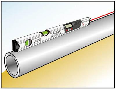 STS レーザ付デジタル傾斜計DL600LV【DL600LV】(測量用品・勾配計)